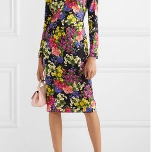 Dolce & Gabbana Dresses - Dolce and Gabbana Floral-print silk-blend dress